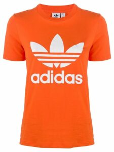 Adidas Adidas Originals Trefoil logo T-shirt - Orange