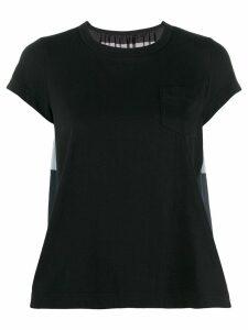 Sacai ruched detail blouse - Black