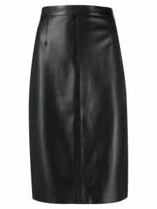 Red Valentino RED(V) fitted pencil skirt - Black