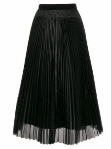 Forte Forte high-waisted pleated skirt - Black