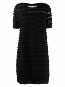 PS Paul Smith fringed trim dress - Black