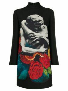 Valentino Lovers print dress - Black