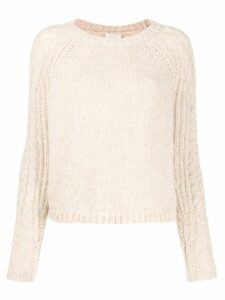 Forte Forte chunky knit sweater - Neutrals