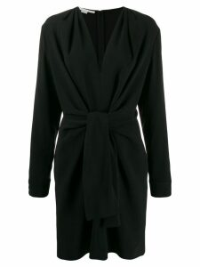 Stella McCartney tie-front dress - Black