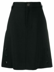 See By Chloé high waisted tailored skirt - Black