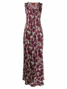 colville floral print dress - Purple