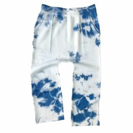 Nissa - Viscose Dress With Gold Buttons