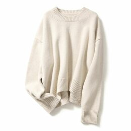HASANOVA - Red Lily Printed Red Silk Maxi Dress