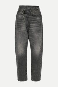 Retrofête - Stacia Sequined Chiffon Track Pants - White