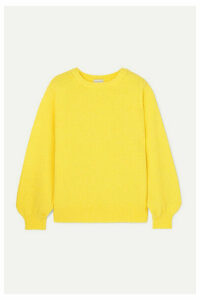 Dries Van Noten - Tasche Knitted Sweater - Yellow
