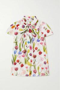 Mes Demoiselles - Passiflore Paisley-print Crepe De Chine Maxi Dress - Mushroom