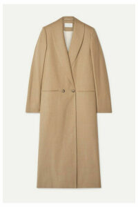 La Collection - Adeline Wool-blend Coat - Sand