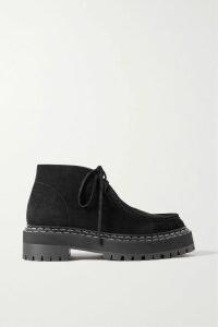 Christopher Kane - Printed Cotton-jersey T-shirt - Pink