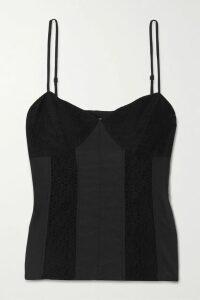 Marchesa Notte - Appliquéd Pleated Floral-print Chiffon Gown - Pink