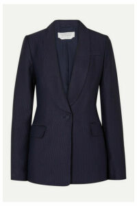 Gabriela Hearst - Caligula Ribbed Twill Blazer - Navy