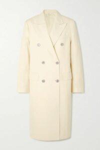 Isabel Marant Étoile - Yeba Asymmetric Printed Silk Crepe De Chine Midi Skirt - Blue