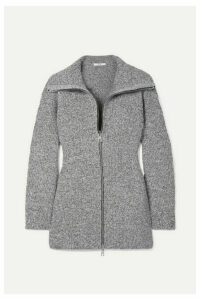 Tibi - Mélange Knitted Jacket - Gray