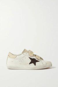 The Vampire's Wife - Tiered Shirred Velvet Maxi Dress - Purple