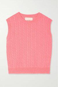 palmer//harding - Blended Cape-effect Vinyl Jacket - Burgundy