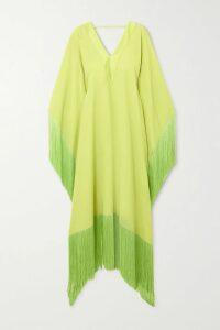 Altuzarra - One-shoulder Draped Satin Wrap-effect Dress - Black