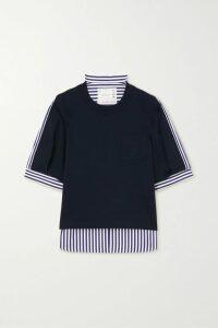 Vetements - Pleated Floral-print Crepe Midi Dress - White