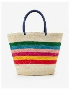 Corsica Beach Bag Multi Women Boden, Multi