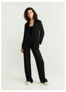 Unstructured suit blazer