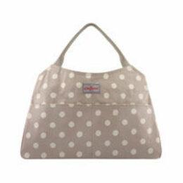 Button Spot Open Tote Bag