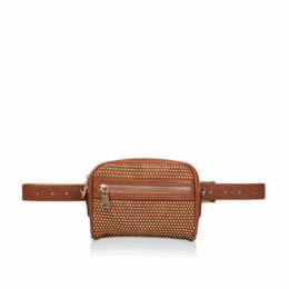 Steve Madden Sm36927 - Tan Studded Belt Bag