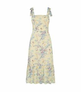 Floral Tolucah Midi Dress