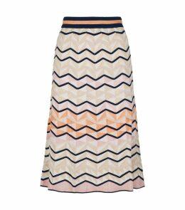 Knitted Zig Zag Skirt