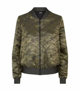 Camouflage Stealth Bomber Jacket