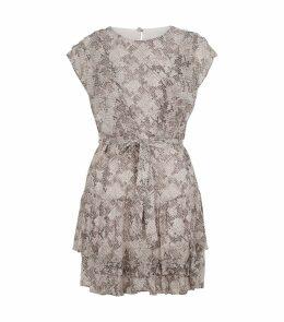 Snakeskin Print Evely Dress