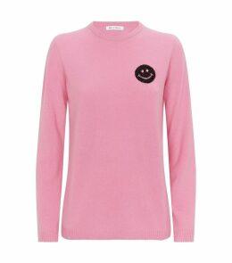 Cashmere Happy Emoji Sweater