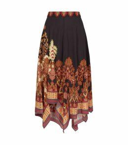 Hanky Midi Skirt