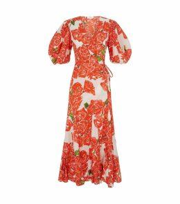 Cotton Fiona Midi Dress