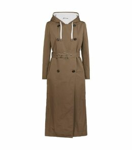 Belted Hooded Coat
