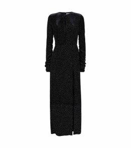 Lucy Velvet Glitter Dress