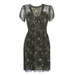 Ikks  BP30315-56  women's Dress in Green