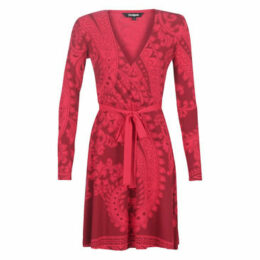 Desigual  MARLENE  women's Dress in Red