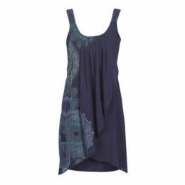 Desigual  SEVILLA  women's Dress in Blue