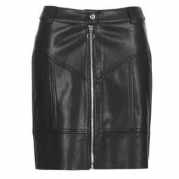 Morgan  JZIP  women's Skirt in Black