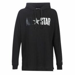 Converse  ALL STAR FLEECE PO  women's Sweatshirt in Black