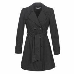 Naf Naf  BITRENCHOU  women's Trench Coat in Black