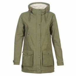Volcom  WALK ON BY 5K PARKA  women's Parka in Green
