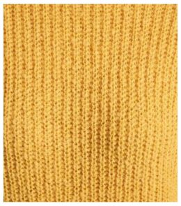 Mustard Longline Jumper New Look
