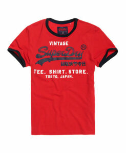 Superdry Shirt Shop Retro Ringer T-Shirt