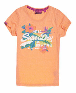 Superdry Vintage Logo Hibiscus T-shirt