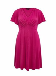 **Scarlett & Jo Pink Fit And Flare Dress, Pink