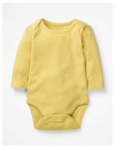 Supersoft Pointelle Body Yellow Baby Boden, Yellow